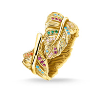 ring feather gold - THOMAS SABO Thailand