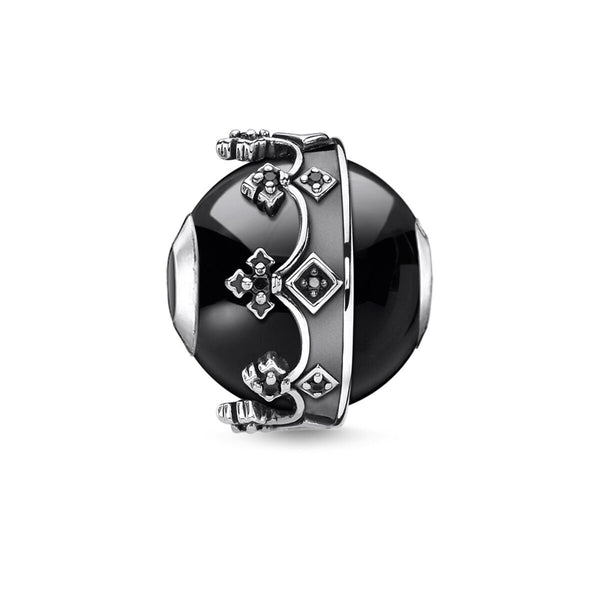 Bead crown black - THOMAS SABO Thailand