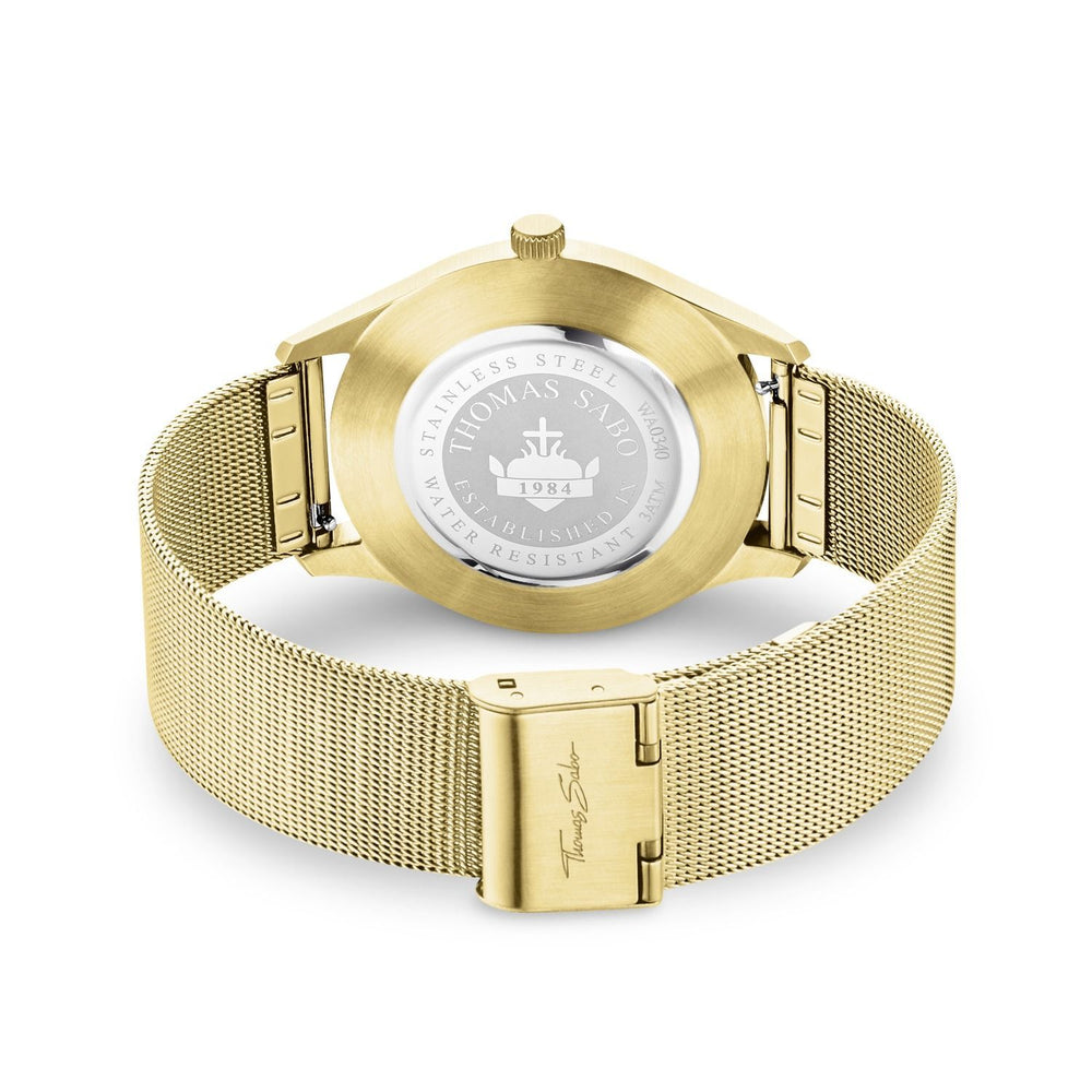 "Watch Unisex ""Code TS Yellow Gold"" - THOMAS SABO Thailand"