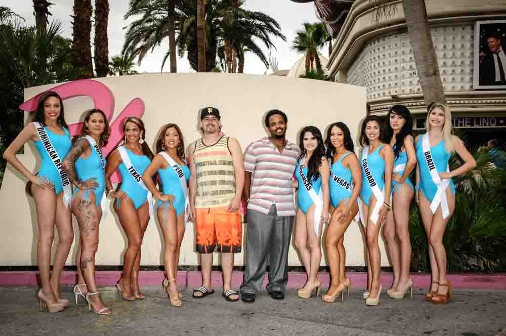 SWIMSUIT SHOWCASE ON THE STRIP!