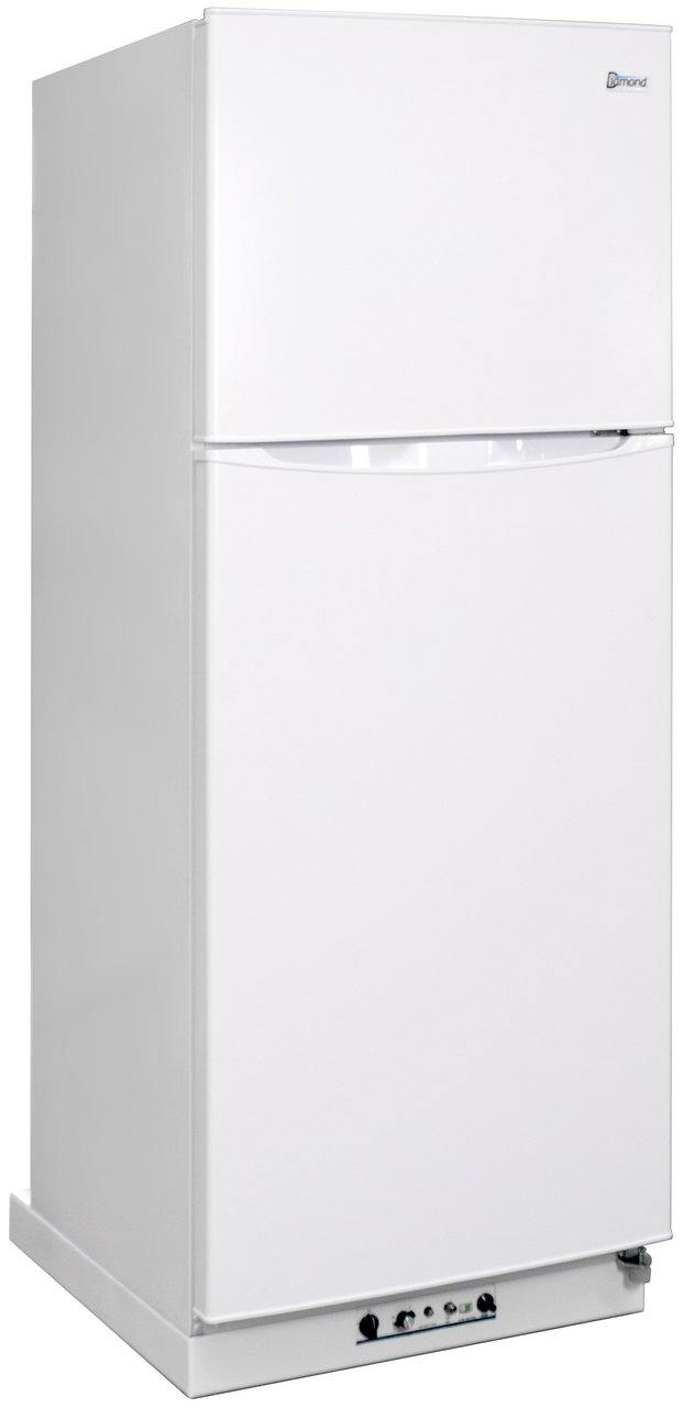 Diamond Quest 14WNG Natural Gas Refrigerator-Freezer in White 14 cu.ft. - Ben's Discount Supply