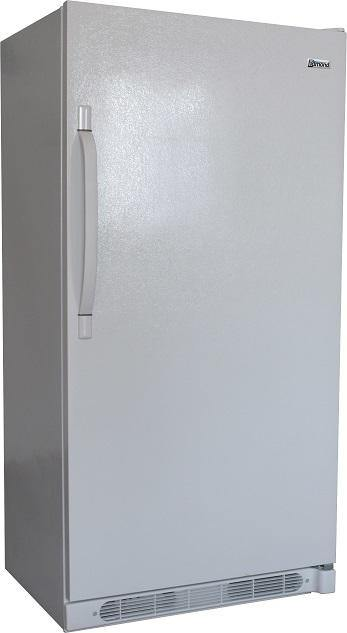 Diamond Natural Gas All-Refrigerator-Freezer in White 18 cu.ft. - Ben's Discount Supply