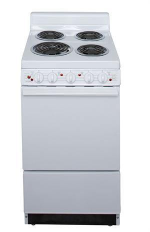 "Premier EAKL0AOP 20"" Electric Range White - Ben's Discount Supply"