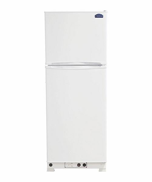 EZ Freeze EZ-10WNG Natural Gas Refrigerator-Freezer in White 10 cu.ft. - Ben's Discount Supply