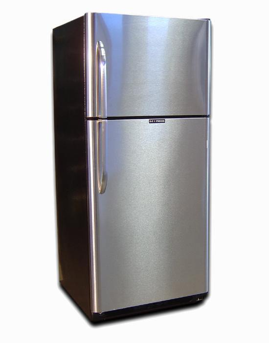 EZ Freeze EZ-19SNG Natural Gas Refrigerator-Freezer in Stainless Steel 19 cu.ft. - Ben's Discount Supply