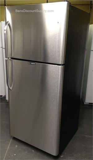 EZ Freeze EZ-21SSNG Natural Gas Refrigerator-Freezer in Stainless Steel 21 cu.ft. - Ben's Discount Supply