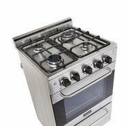 "Unique Prestige 20""  Convection Gas Range (Electronic Ignition) UGP-20V PC1 S/S  (Stainless Steel) *Backorder 3/26/21* - Ben's Discount Supply"