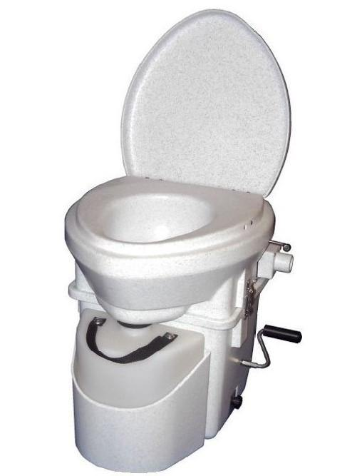 Nature's Head Composting Toilet with Standard Handle - Ben's Discount Supply
