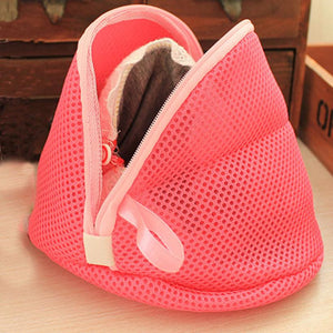 Super Deal Women Bra Laundry Lingerie Washing Hosiery Saver Protect Mesh Small Bag Clothes Wash Bag