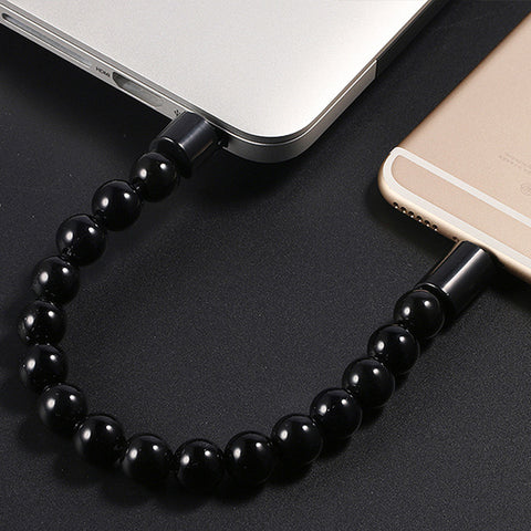 Tech Fashion Bracelet Micro USB Charging Cable