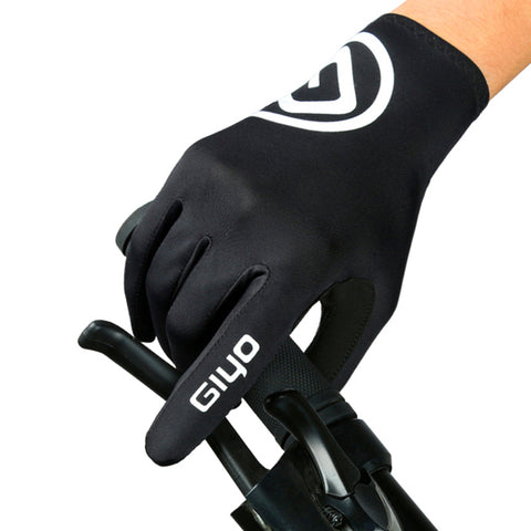 Touch Screen Anti-slip Full Finger Cycling Gloves