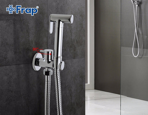Cylindrical Hand Shower Tap Crane