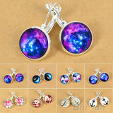 Galaxy Space Plated Earrings