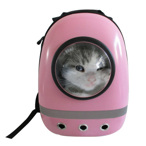 Pet Space Capsule Shaped Breathable Backpack