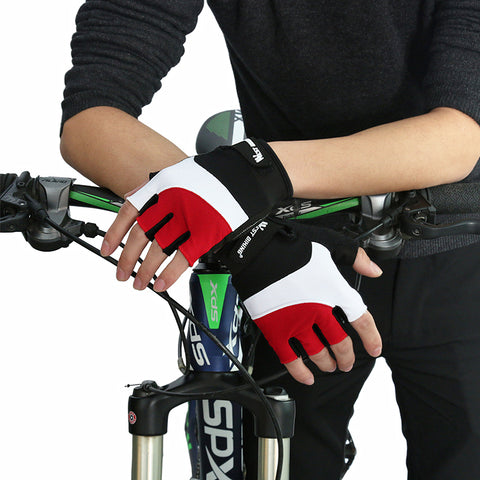 Fingerless Fitness GEL Sports Cycling Gloves