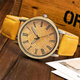 Tech Fashion Leather Analog Watch