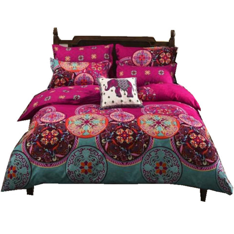 Bohemian Mandala Duvet Queen Bedding Sets