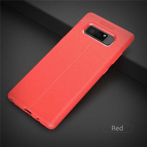 Silicon Leather Samsung Galaxy Note 8 Case