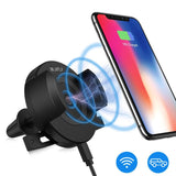 Car Wireless Charger And Phone Holder
