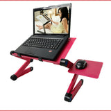 Portable Adjustable Foldable Laptop Desk Computer Table