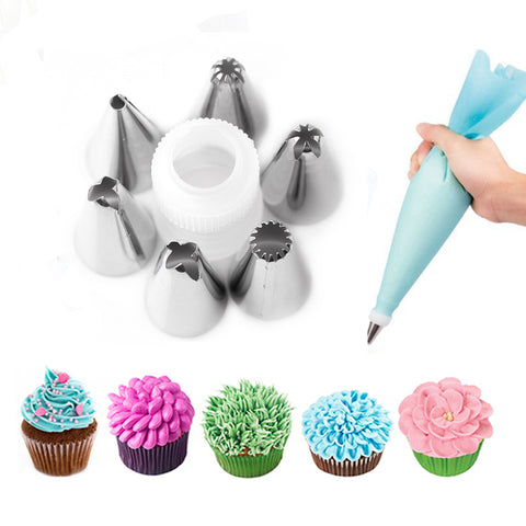 Silicone Icing Piping Cream Pastry Bag