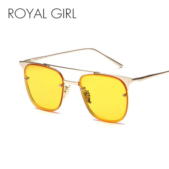 Fashion Ladies Sunglasses Metal Frame Glasses Double Girder Luxury Brand Designer Women Sun Glasses Mirror Shades oculos SS530