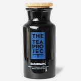 Darjeeling Glass Tea Caddy + 25 Tea Pyramids. Normally $37.45 Now $20