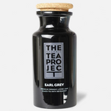 Earl Grey Glass Tea Caddy + 25 Tea Pyramids