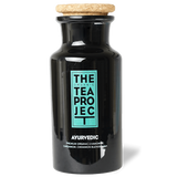 The Organic Tea Project Teaware Ayurvedic Herbal Glass Tea Caddy