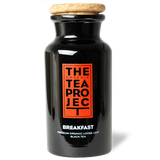 The Organic Tea Project Teaware English Breakfast Glass Tea Caddy