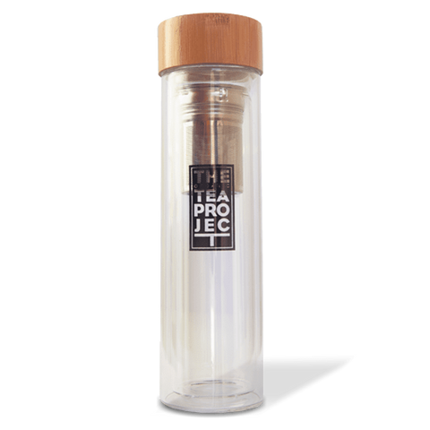 On The Go Bundle: Sticky Chai Loose Leaf (150g x 2) + Tea Flask