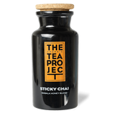 The Organic Tea Project Teaware Sticky Chai Glass Tea Caddy