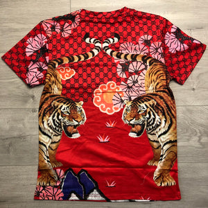 Tiger tee-red