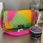 Rainbow chantel bag