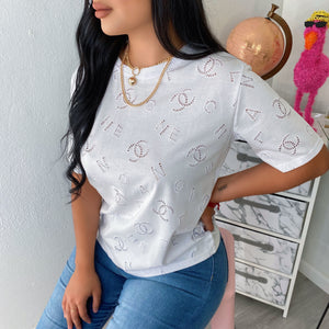 Chantel embroidered top
