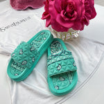 Tiffany bandana slides