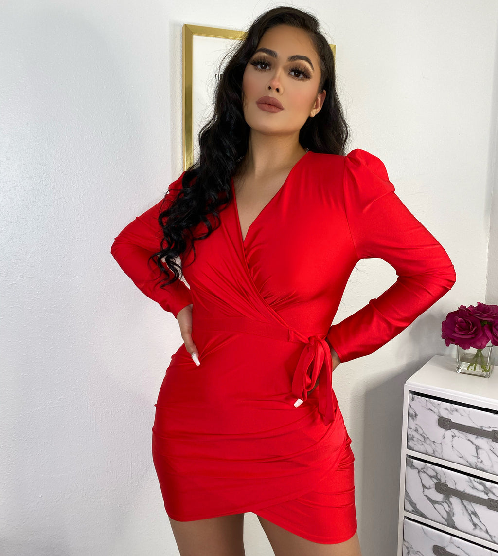 Salome red dress