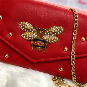 Abejita clutch-red