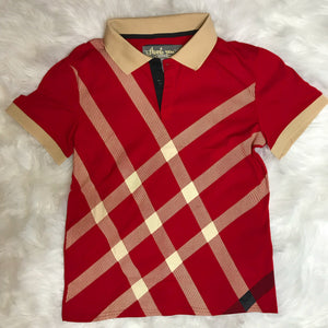 Signature polo-Red