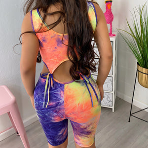 Miranda Romper with matching mask