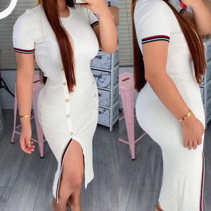 Tommy ribbed dress