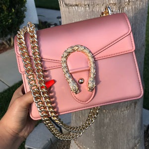 Greece purse rose gold-SMALL