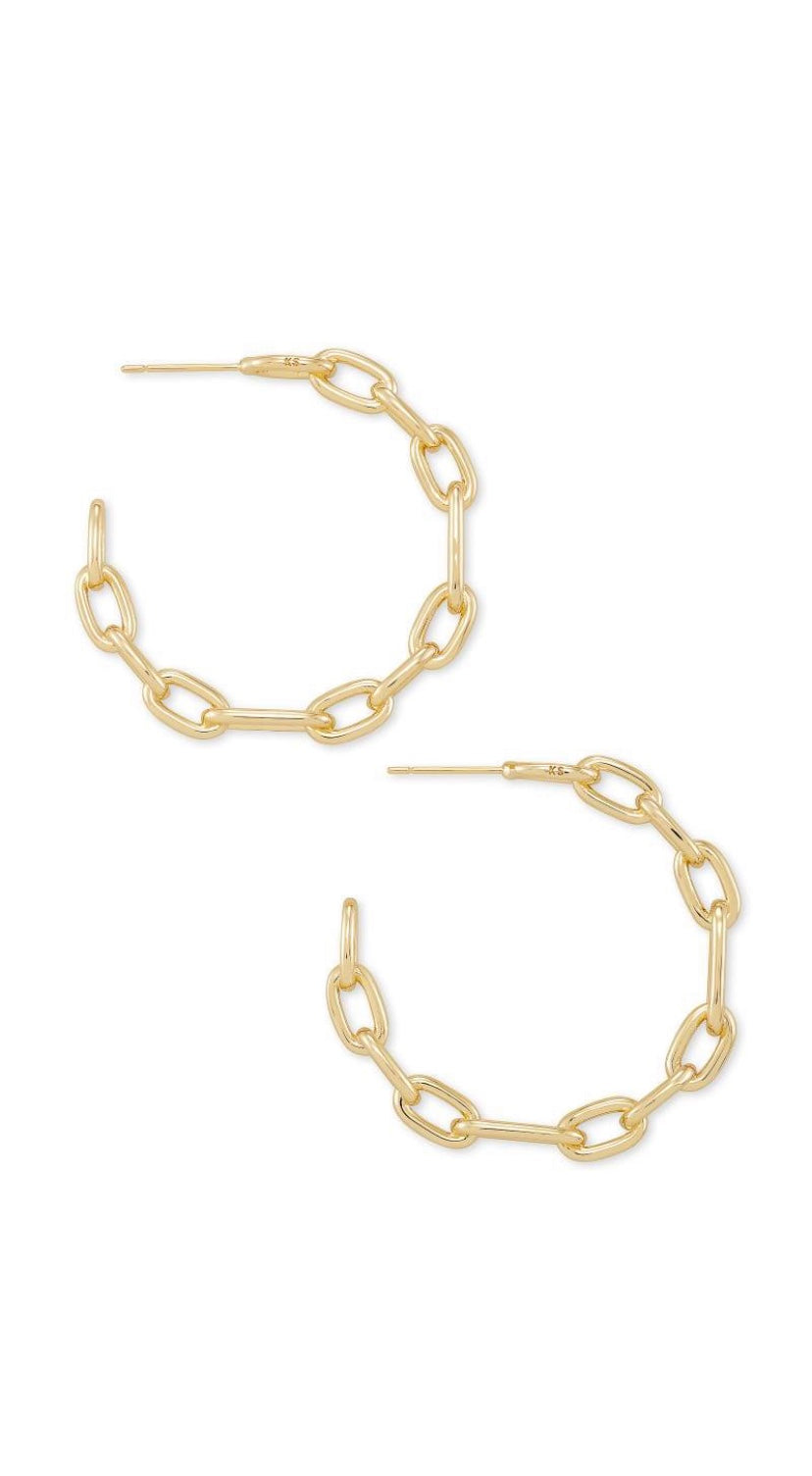 Kendra Scott Ryder Hoop Earrings