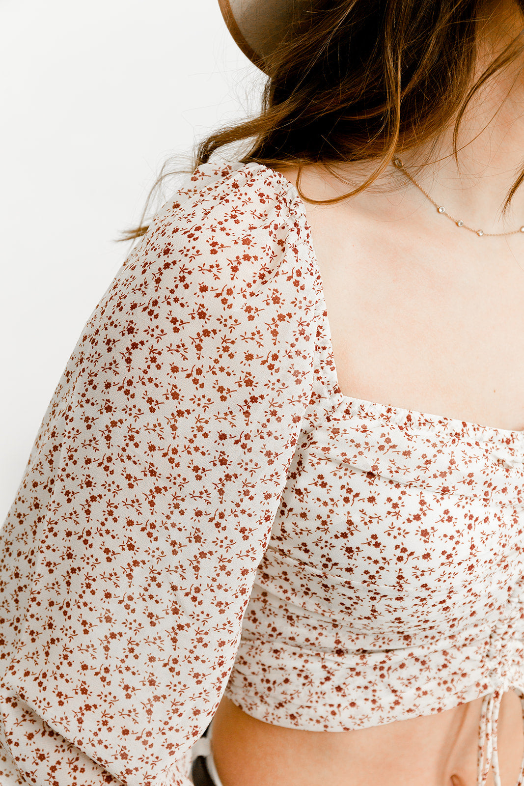 Oaklynn Floral Crop Top