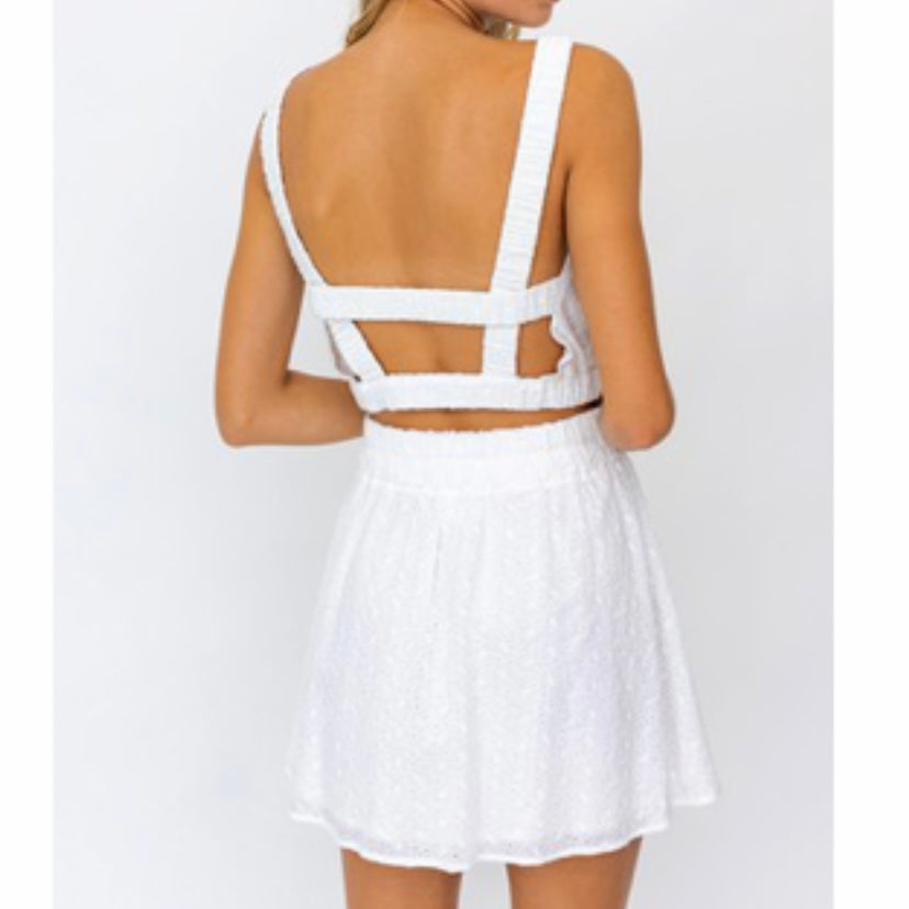 Happily Ever After White Two Piece Set