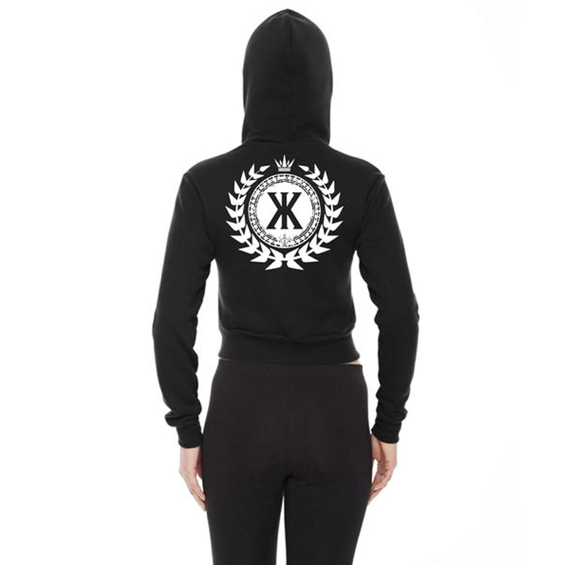 Konvict Official Cropped Hoodie