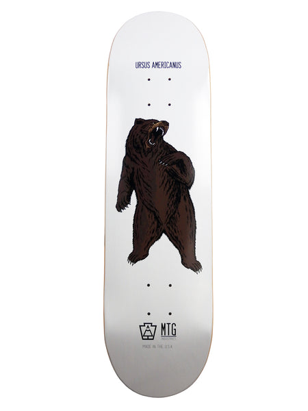 "MTG Industries WildLife Series Skateboard Deck - 8.5"" Ursus Americanus (American Black Bear)"
