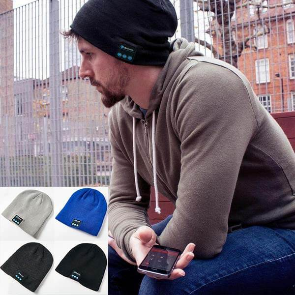 Touca Inteligente com Bluetooth