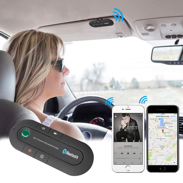 Kit Bluetooth de Para Sol de Carro
