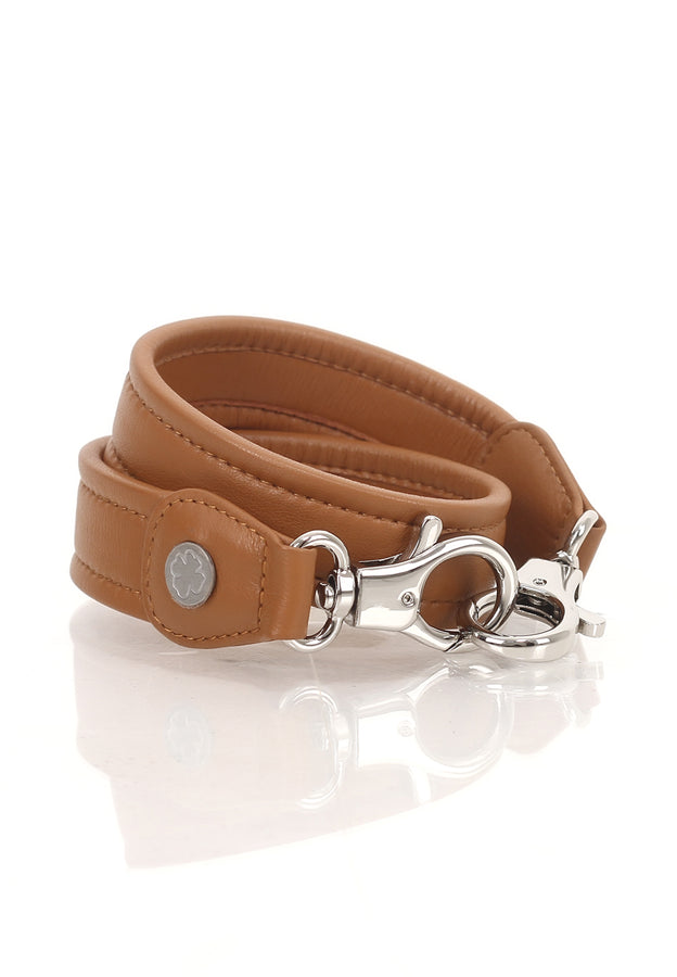 Lambskin Leather Strap (True Brown)